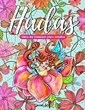 Hadas - Libro de Colorear para Adultos: Más de 50 hermosas Hadas y selvas encantadas. Libros de Colorear anti estrés con diseños relajantes. (Idea de Regalo, Tamaño Grande)