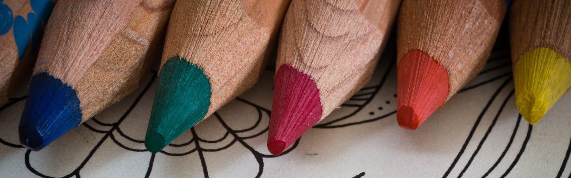 Libros para colorear para adultos y gente mayor